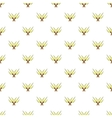 Crossed tridents pattern cartoon style vector image vector image