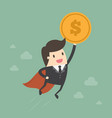 currency growth vector image vector image