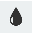 Drop icon vector image