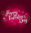 festive background for valentines day vector image vector image