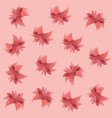 flowers floral nature foliage pattern vector image vector image
