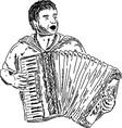 harmonica vector image vector image