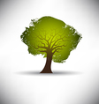 Rough Texture Tree vector image vector image
