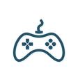 Game controller logo template Joystick icon vector image