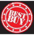 Best buy label vector image