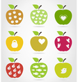 Apple icons3 vector image vector image