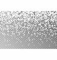 christmas falling snowflake snow flake sim vector image vector image