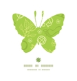 environmental butterfly silhouette pattern frame vector image