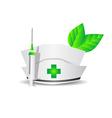 environmental medicine vector image vector image