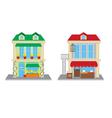 Flower Shop and Fruit Shop vector image vector image
