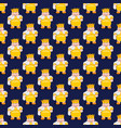 king on a dark blue background seamless pattern vector image