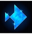 Abstract Polygonal Fish vector image