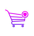 buy cart protect secure shop store icon vector image vector image