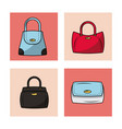 fashion women bags vector image