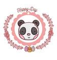 happy day emblem vector image