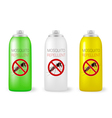 mosquito repellents vector image