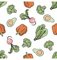 pepper backdrop paleo seamless pattern vector image