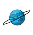 planet icon image vector image vector image