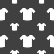 T-shirt Clothes icon sign Seamless pattern on a vector image vector image