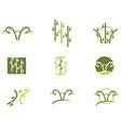 bamboo logo template icon