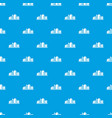 chemical plant pattern seamless blue vector image vector image
