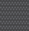 emboss triangle pattern background vector image vector image