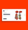 geisha women landing page template female