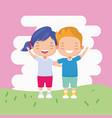 kids zone image vector image vector image