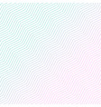 minimal diagonal zigzag pattern design vector image vector image