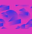 retro futurism seamless pattern geometric vector image vector image
