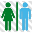 WC Persons Icon vector image
