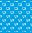 wednesday calendar pattern seamless blue vector image vector image