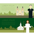 Catholic Church vector image