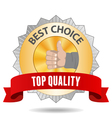 Best choice vector image