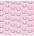 cute seamless pattern for children with funny vector image