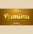 editable text style effect - premium gold text