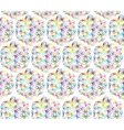 Flower of Life seamless pattern for your design vector image