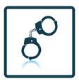 Handcuff icon vector image