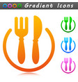 lunch symbol icon design vector image