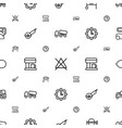 machine icons pattern seamless white background vector image vector image