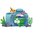 nature photography concept vector image vector image