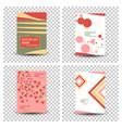 poster flyer pamphlet brochure cover design vector image vector image