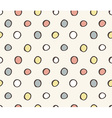 seamless cute retro pattern vector image