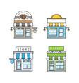 Set store buildings