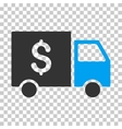 Tax Collector Car Eps Icon vector image vector image