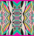 traditional ornamental paisley bandanna hand vector image vector image