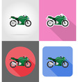 transport flat icons 54 vector image vector image