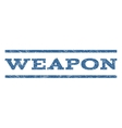 Weapon Watermark Stamp vector image vector image