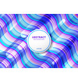 abstract pattern wave bright color background vector image vector image