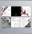 brochure design 706 vector image